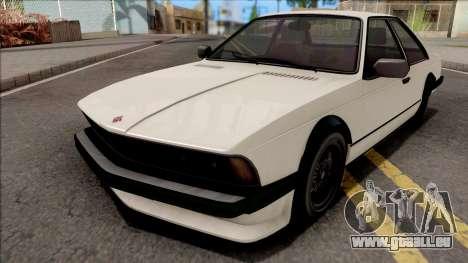 GTA V Ubermacht Zion Classic SA Style für GTA San Andreas