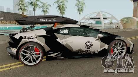 Jon Olsson Lamborghini Huracan LP610-4 2015 pour GTA San Andreas
