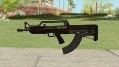 Bullpup Rifle (With Flashlight V2) GTA V für GTA San Andreas