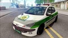 Peugeot 206 Iranian Police