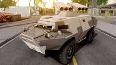 GTA V HVY APC S.A.M. Turret SA Style für GTA San Andreas