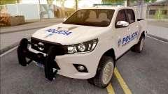 Toyota Hilux Policia Fuerza Publica