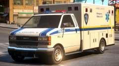 Ambulance PAPD FIA Medical Unit
