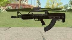 Bullpup Rifle (With Scope V2) GTA V für GTA San Andreas