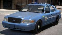 Ford Crown Victoria Military Police pour GTA 4