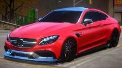 Mercedes Benz C63 Brabus V1 pour GTA 4