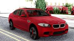 BMW M5 F10 Red Sedan pour GTA San Andreas