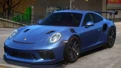2018 Porsche 911 GT3 RS wheel black pour GTA 4
