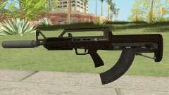 Bullpup Rifle (With Silencer V2) GTA V für GTA San Andreas