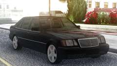 Mercedes-Benz S600 W140 Original Black pour GTA San Andreas