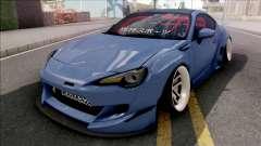 Subaru BRZ Blue für GTA San Andreas