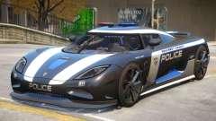 Koenigsegg Agera Police PJ3