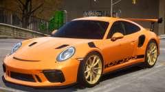 2018 Porsche 911 GT3 RS wheel gold