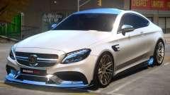 Mercedes Benz C63 Brabus V2 pour GTA 4