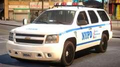 NYPD Chevrolet Tahoe pour GTA 4