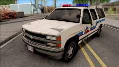 Chevrolet Suburban 1992 Hometown Police pour GTA San Andreas