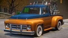 Vapid Tow Truck Restored V2 für GTA 4