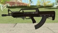 Bullpup Rifle (Two Upgrades V2) GTA V für GTA San Andreas