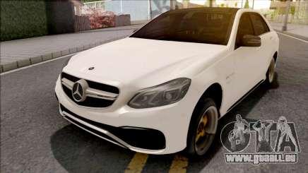 Mercedes-Benz E63 AMG White pour GTA San Andreas