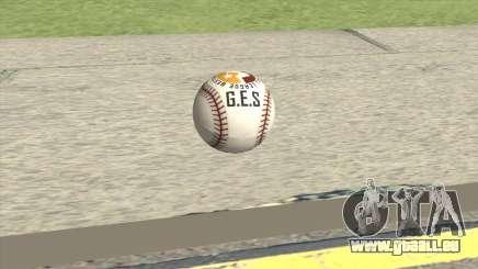 Baseball Ball From GTA V für GTA San Andreas