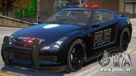 Annis Elegy RH8 Police pour GTA 4