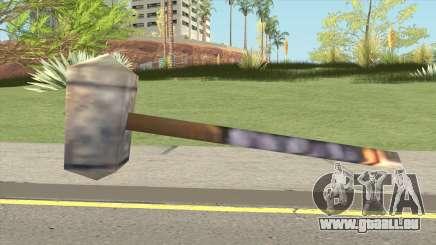 Arthas Hammer (Warcraft III RoC) pour GTA San Andreas