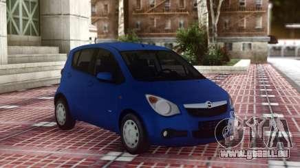Opel Agila Compact für GTA San Andreas