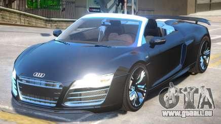 Audi R8 Spyder V2 pour GTA 4
