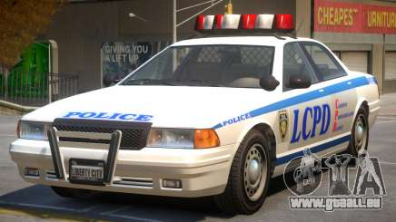 Vapid Stanier Police V2 pour GTA 4