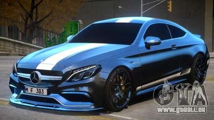 2017 Mercedes Benz C63 S AMG Coupe pour GTA 4