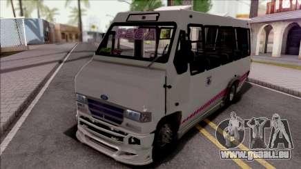 Ford Prisma IV Microbus White pour GTA San Andreas