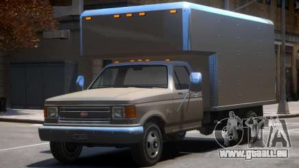 Vapid Box Truck v1.1 pour GTA 4