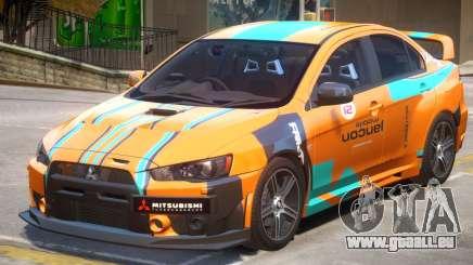 Mitsubishi Lancer Evo X PJ2 pour GTA 4