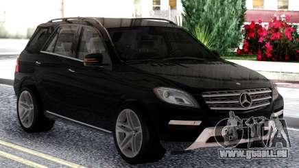 Mercedes-Benz ML Class 2013 Sport Black pour GTA San Andreas
