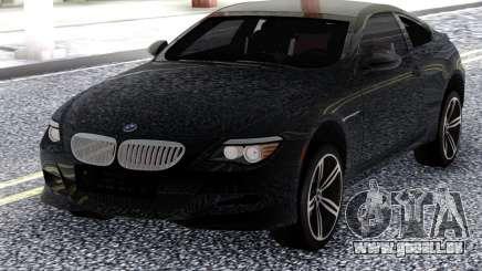 BMW M6 E63 2010 Black für GTA San Andreas