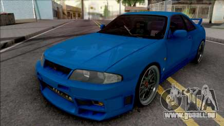 Nissan Skyline GT-R R33 pour GTA San Andreas