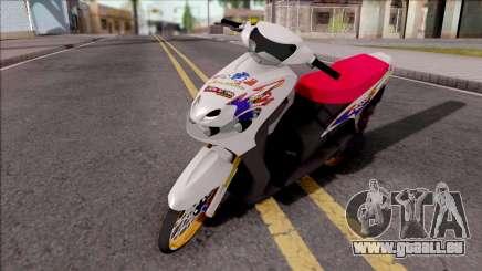 Yamaha Mio MX pour GTA San Andreas