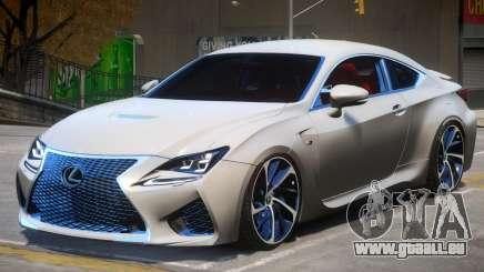 Lexus Coupe RC F pour GTA 4