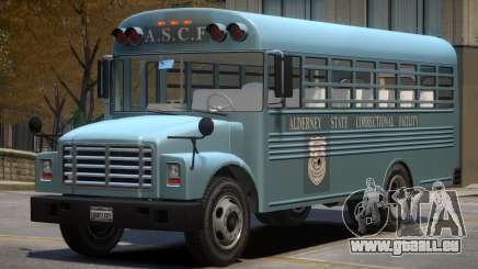 Vapid Prison Bus (Improved) V1.1 pour GTA 4