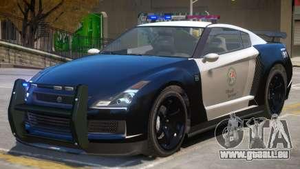 Annis Elegy RH8 Police V2 pour GTA 4