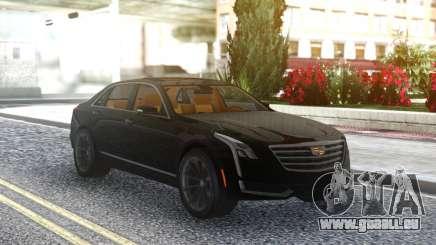 Cadillac CT6 Black für GTA San Andreas