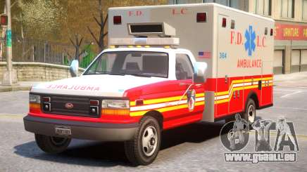Vapid Ambulance Retro v1.1 pour GTA 4