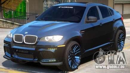 BMW X6 V1.2 pour GTA 4