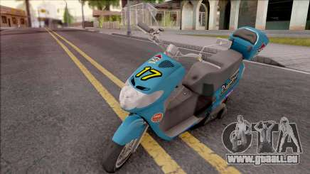 Suzuki Address 110 Custom für GTA San Andreas