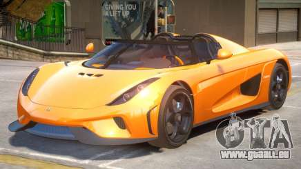 Regera Improved V2 pour GTA 4