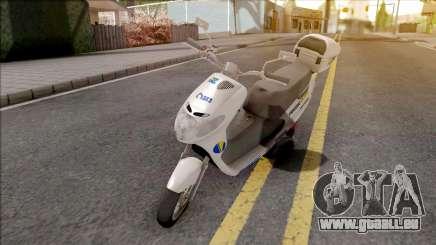 Suzuki Address BHPOST EXPRESS für GTA San Andreas