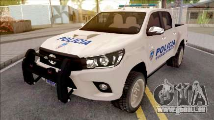 Toyota Hilux Policia Fuerza Publica pour GTA San Andreas