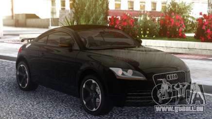 Audi TT RS 2010 Black pour GTA San Andreas