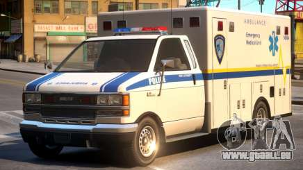 Ambulance PAPD FIA Medical Unit pour GTA 4
