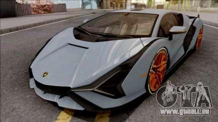 Lamborghini Sian 2020 für GTA San Andreas